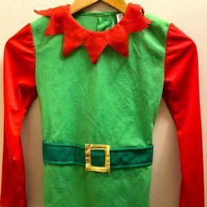 kids elf costume size 9